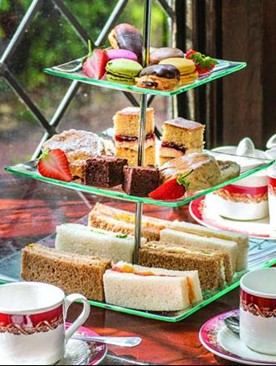 Afternoon Tea for two in The Oak Room Restaurant